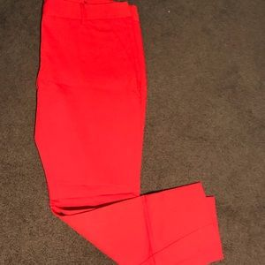 Express Red Dress Pants